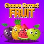 Choose Correct Fruit