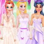 Princesses Buy Wedding Dresses